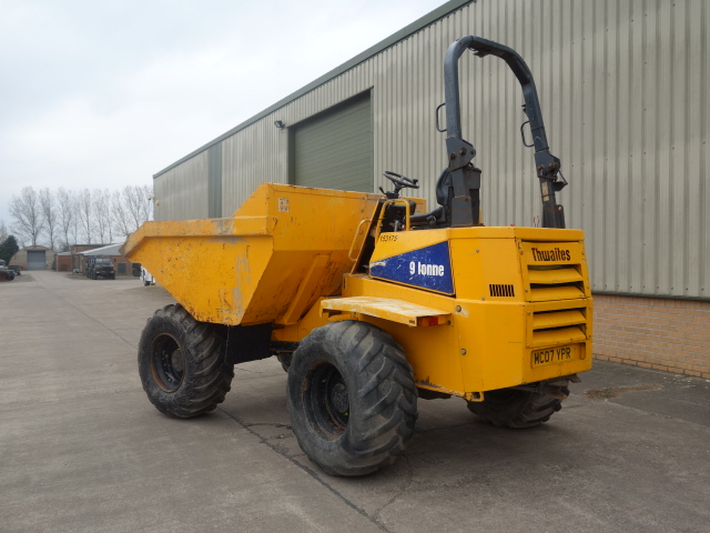 Thwaites 9 ton Dumper  for sale . The UK MOD Direct Sales