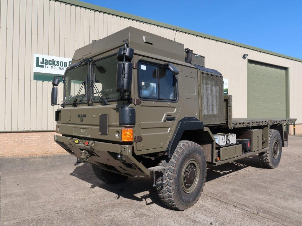 Unused MAN 4x4 HX60 18.330 Flat Bed Cargo Trucks for sale | military vehicles