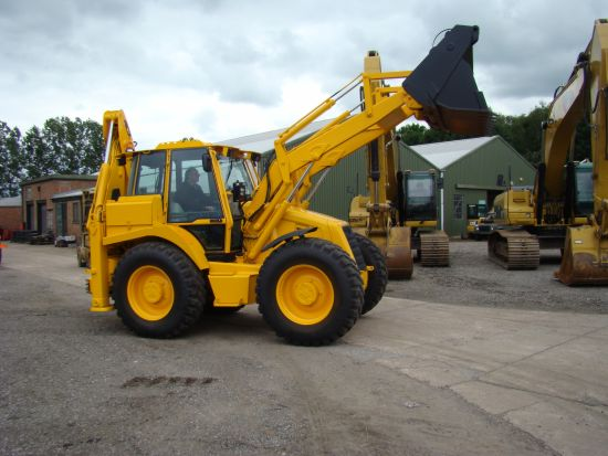 JCB 4CX Military Back hoe loader |  EX.MOD direct sales