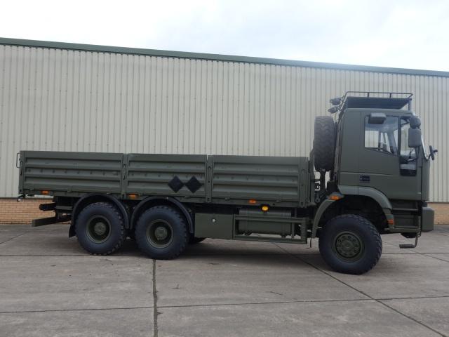 Iveco 260E37 EuroTrakker   6x6 cargo flat bed trucks for sale