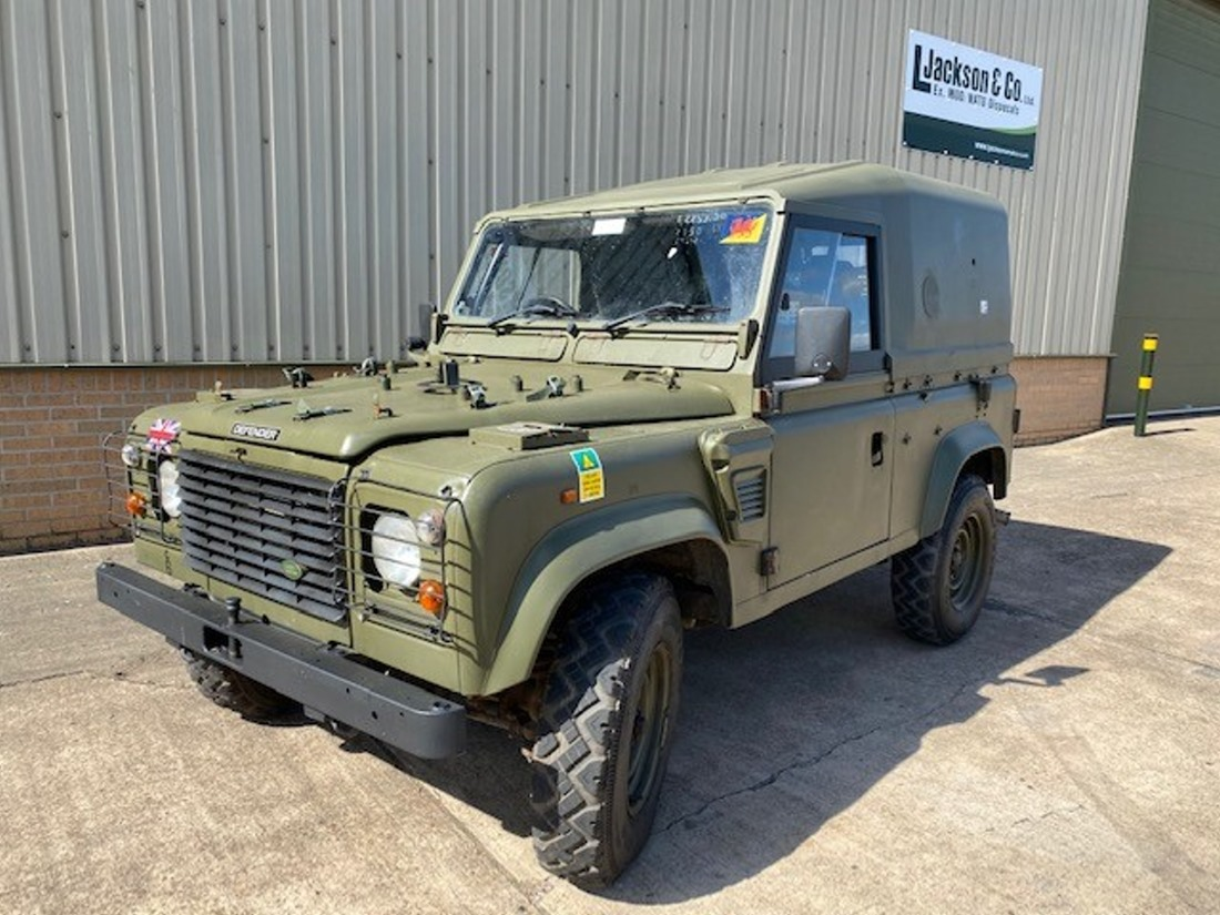 WAS SOLD Land Rover Defender 90 Wolf RHD Hard Top (Remus)