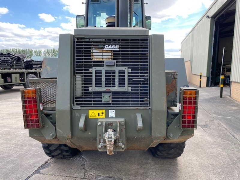 Case 721 CXT wheeled loader with bucket   used military vehicles, MOD surplus for sale