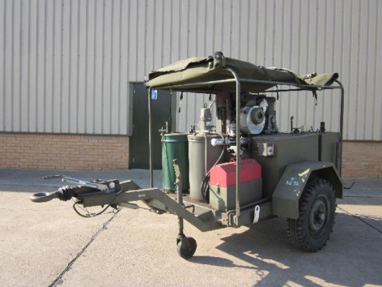 Tacalemit Model SM 6001 Sankey Lubricating Trailer for sale | military vehicles