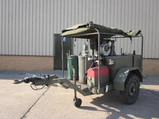 WAS SOLD Tacalemit Model SM 6001 Sankey Lubricating Trailer