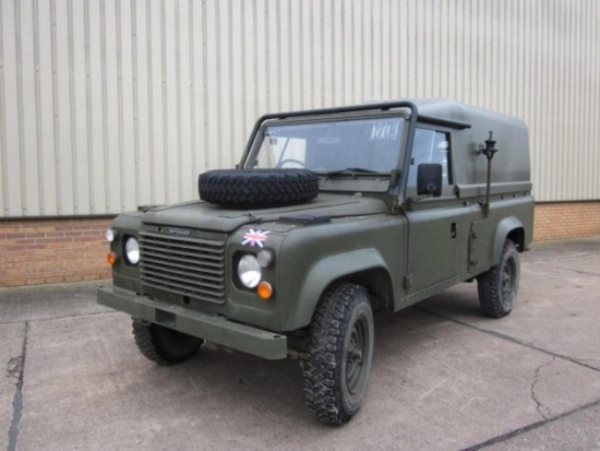 WAS SOLD Land Rover RHD 110 tithonus hard top