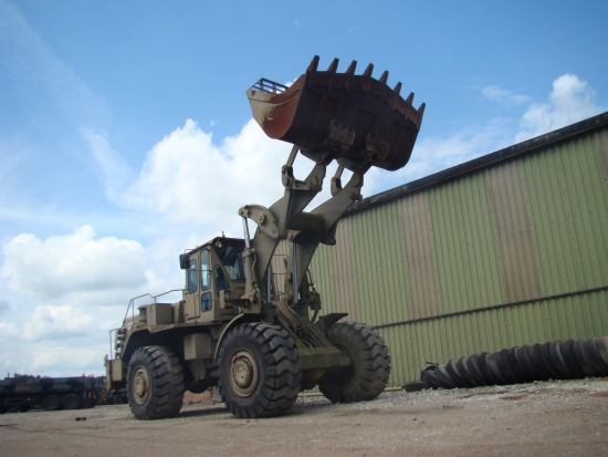 SOLD Terex 72-71B Wheeled Loading Shovel | used military vehicles, MOD surplus for sale