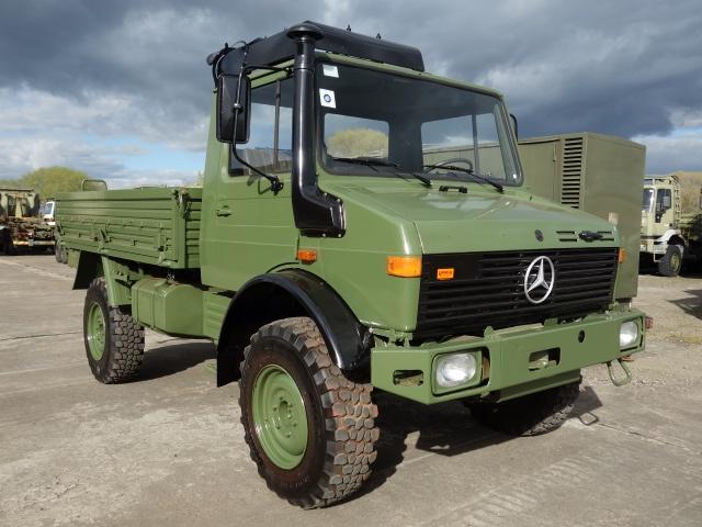 Mercedes Unimog U1300L Cargo Trucks with A/c
