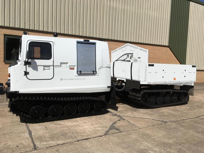 Hagglunds Bv206 Load Carrier with cargo bed only for sale | military vehicles