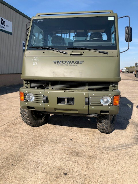 Mowag Duro II 6x6 Chassis Cab 50302 | used military vehicles, MOD surplus for sale