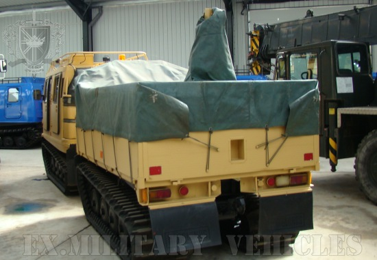 Hagglund BV206 Cargo Carrier & crane Hiab (Amphibious) |  EX.MOD direct sales
