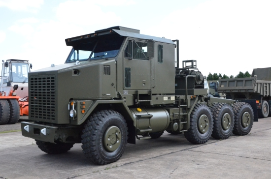 Oshkosh M1070 Tractor Units 8x8 MOD NATO Disposals (MOD Surplus)