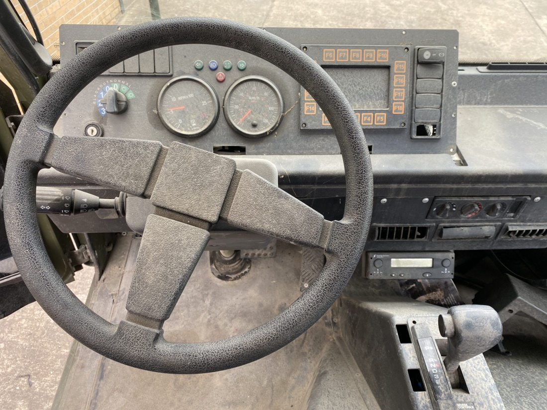 Mowag Duro II 6x6 Chassis Cab (Project Vehicle) for sale
