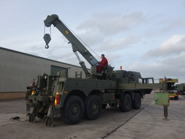 MAN SX45 8x8 recovery truck for sale