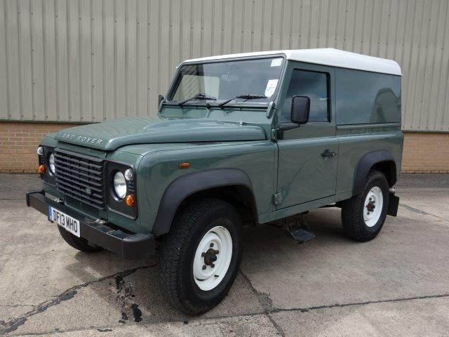 SOLD Land Rover Defender 90 Hard Top | used military vehicles, MOD surplus for sale