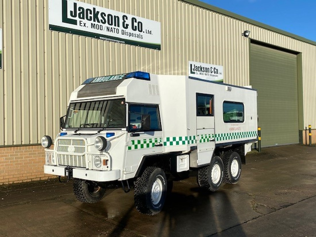 WAS SOLD Pinzgauer 718 6x6 Ambulance