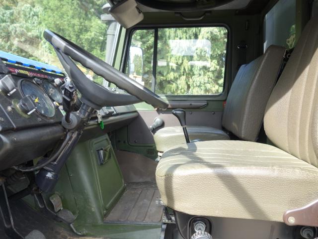 Mercedes Unimog U1300L 4x4 Shoot Vehicle for sale