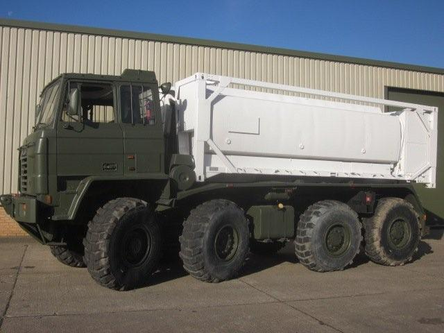 Foden 8x6 IMMLC container carrier | used military vehicles, MOD surplus for sale
