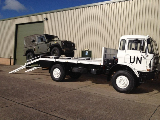 WAS SOLD DAF YA4440 4x4 Beaver rough terrain recovery Truck with winch