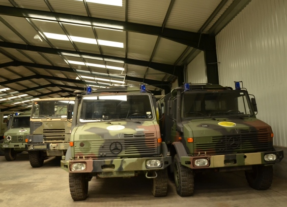 Mercedes Unimog U1300L 4x4 cargo van LHD | used military vehicles, MOD surplus for sale
