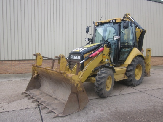 Caterpillar 442E  Back hoe Wheeled loader | used military vehicles, MOD surplus for sale