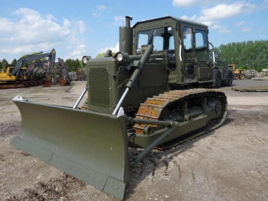 WAS SOLD Caterpillar D6D ex army dozer