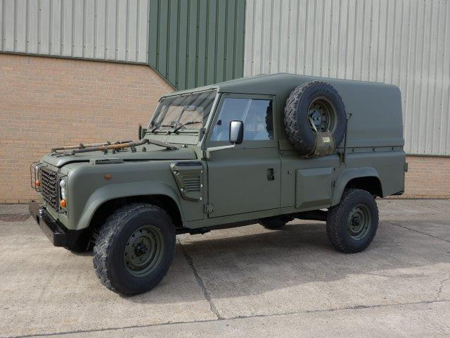 SOLD Land Rover Defender 110 Wolf RHD hard top (Remus) | used military vehicles, MOD surplus for sale