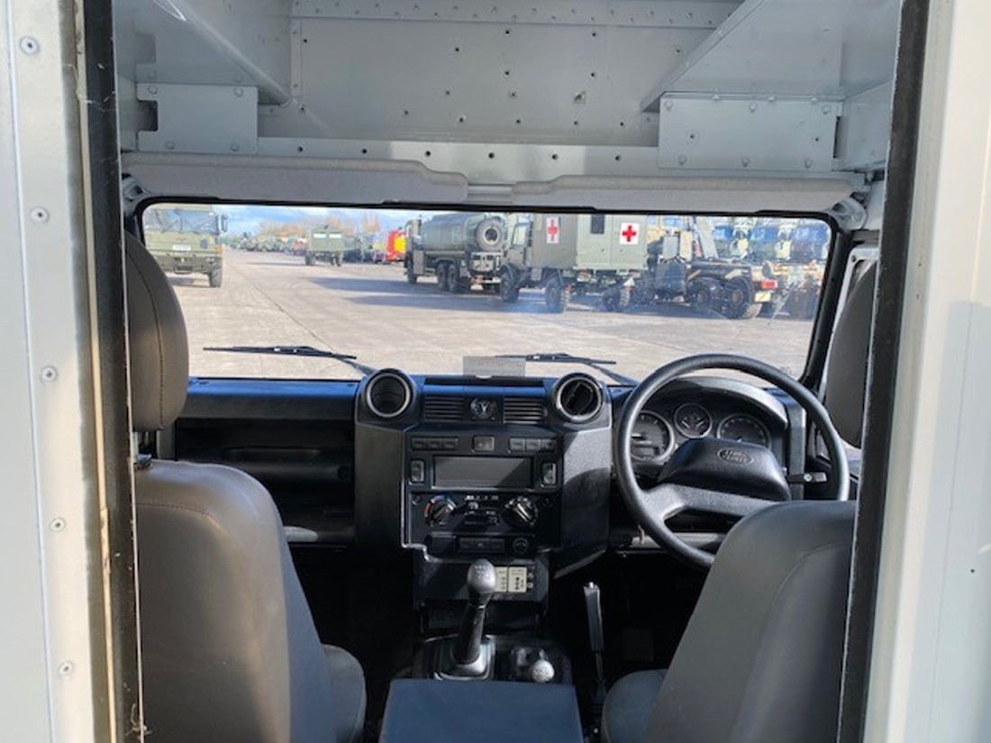 Unused Land Rover Defender 130 RHD Box Vehicle  military for sale