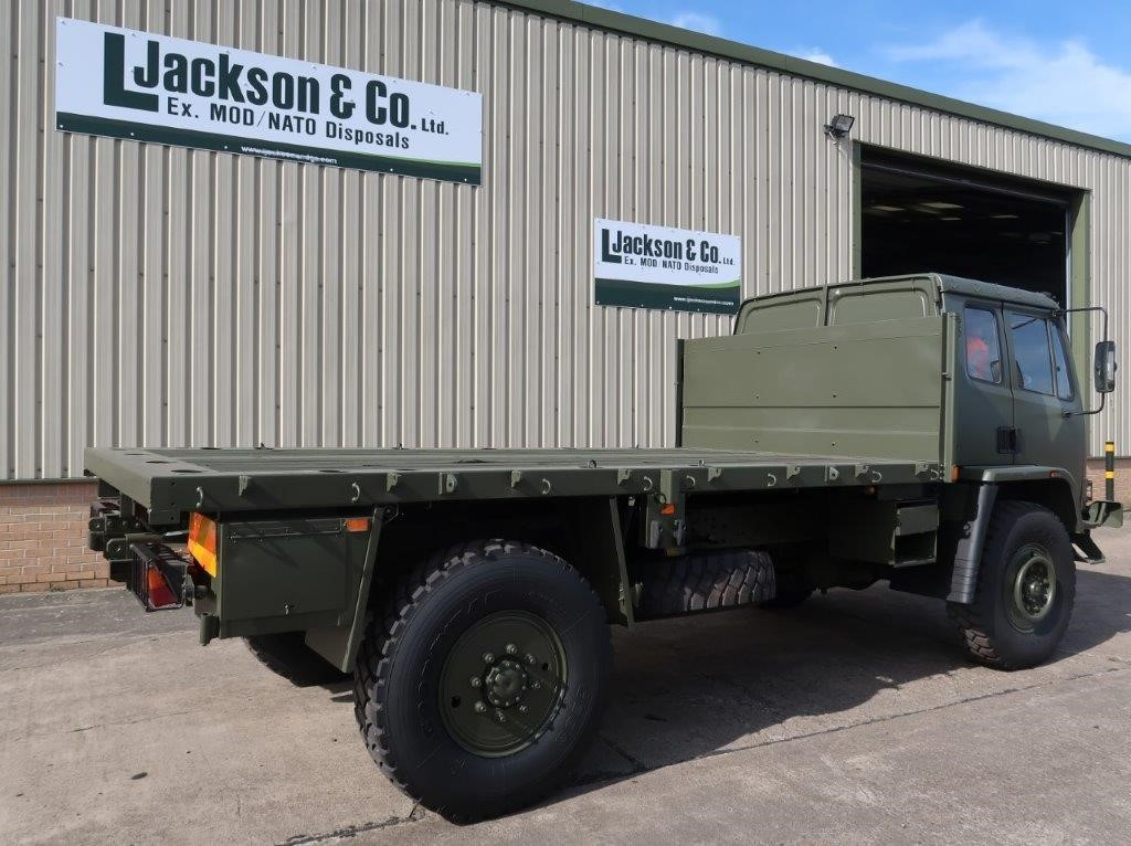 Leyland DAF 4X4 Truck Flat Bed Cargo trucks   used military vehicles, MOD surplus for sale