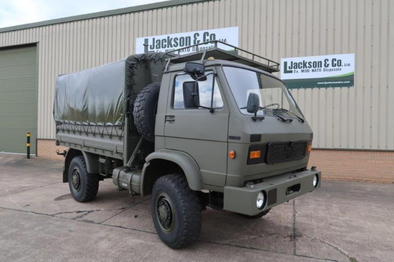 MAN 8.136 Shoot Vehicle for sale | military vehicles