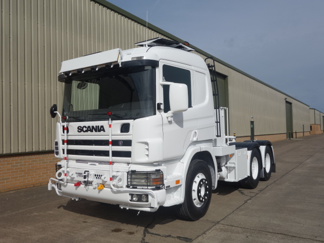 WAS SOLD Scania 124 LHD 6x4 heavy duty tractor unit