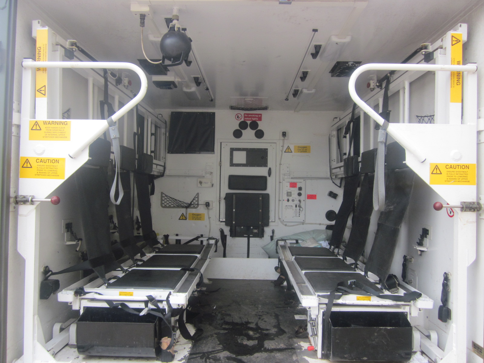 Marshalls Land Rover 130 Ambulance Body   used military vehicles, MOD surplus for sale