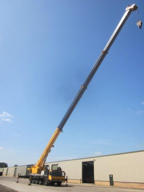 Liebherr LTM1120 120t all terrain mobile crane for sale