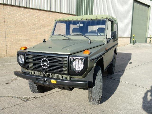Mercedes Benz G wagon 240GD  for sale. The UK MOD Direct Sales