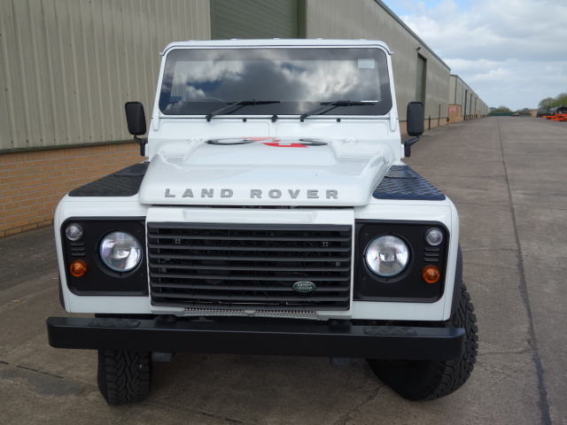 New Armoured Land Rover 130 RHD Chassis Cab  for sale . The UK MOD Direct Sales