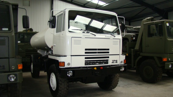 Bedford TM 4x4 8,000lt  tanker truck  for sale