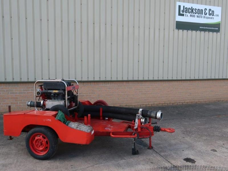 WAS SOLD Godiva Fire Pump Trailer