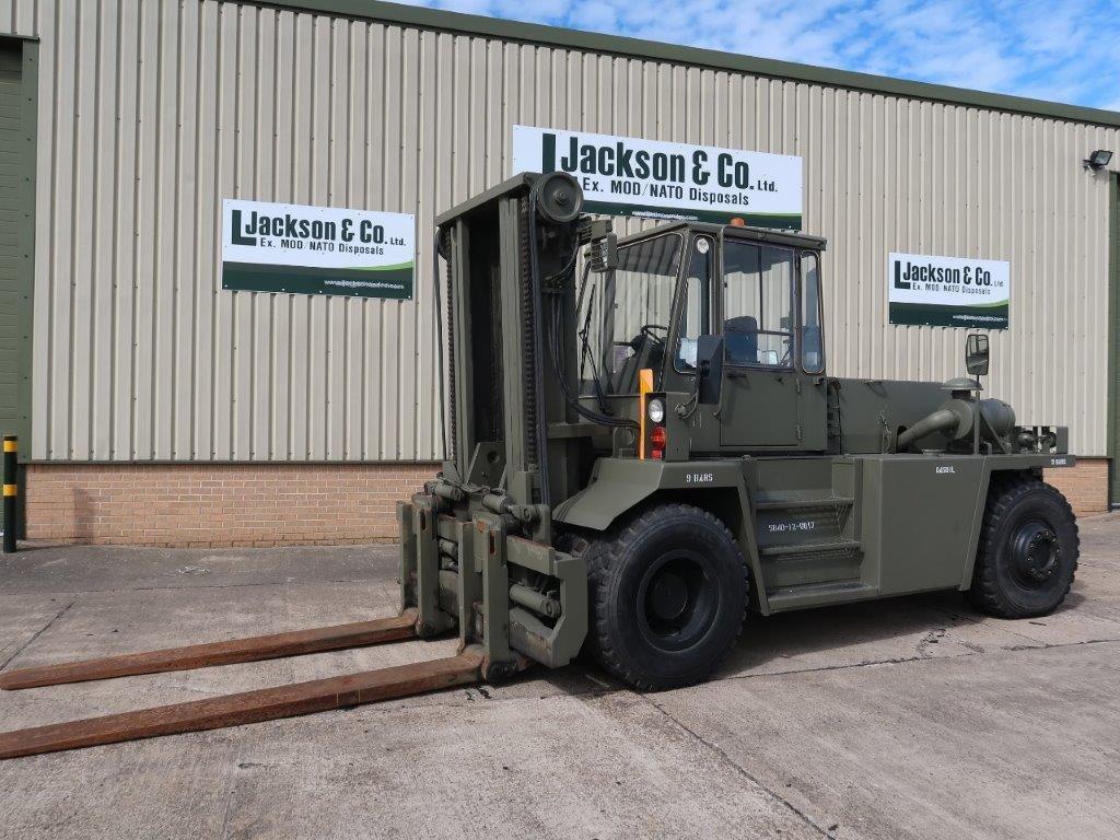 WAS SOLD Valmet Sisu 16 Ton 1612HS 4x4 Forklift
