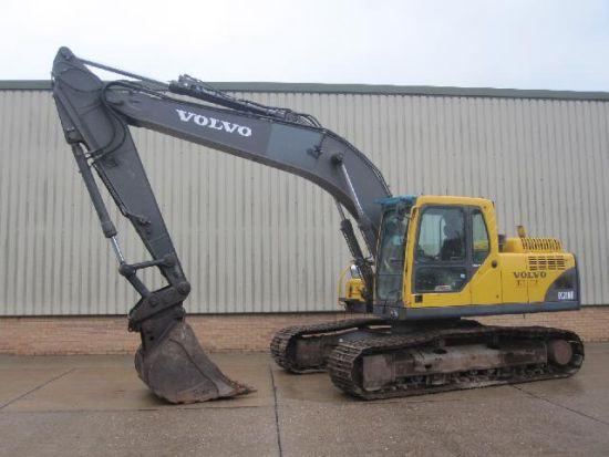 WAS SOLD Volvo EC210 excavator