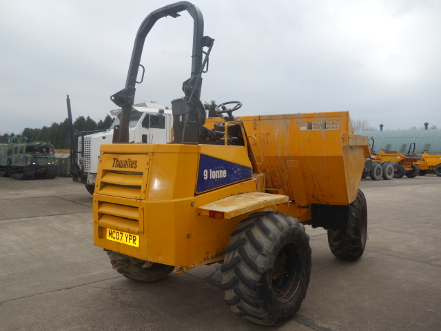 Thwaites 9 ton Dumper  for sale. The UK MOD Direct Sales