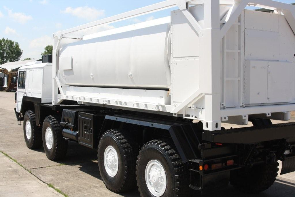 MAN CAT  A1 8x8 tanker truck | used military vehicles, MOD surplus for sale