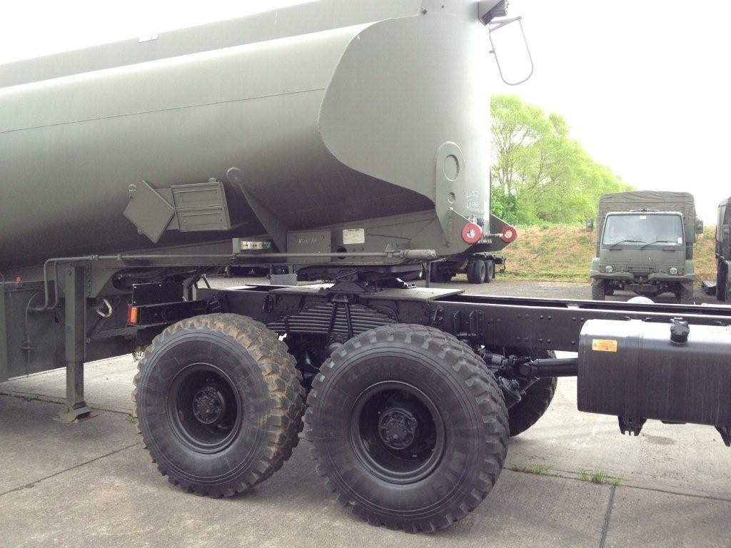 Volvo FL12 6x6 tractor unit with crane Hiab 115-1 for sale
