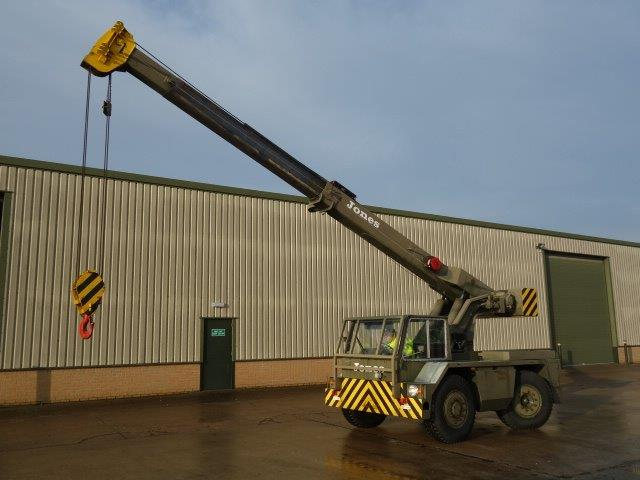 Mobile Crane Ghana : Jones if m mobile military crane for sale in angola