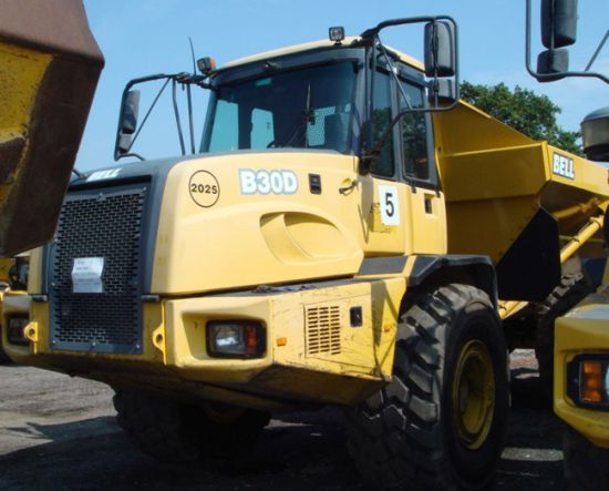 WAS SOLD BELL B30D 6x6 Articulated Dump Truck