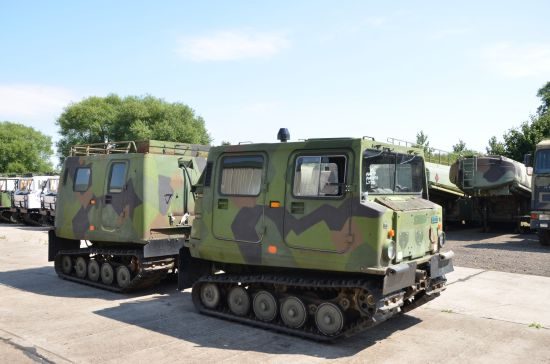 Hagglunds BV206 Personnel Carrier (Petrol/Gasolene)  for sale. The UK MOD Direct Sales