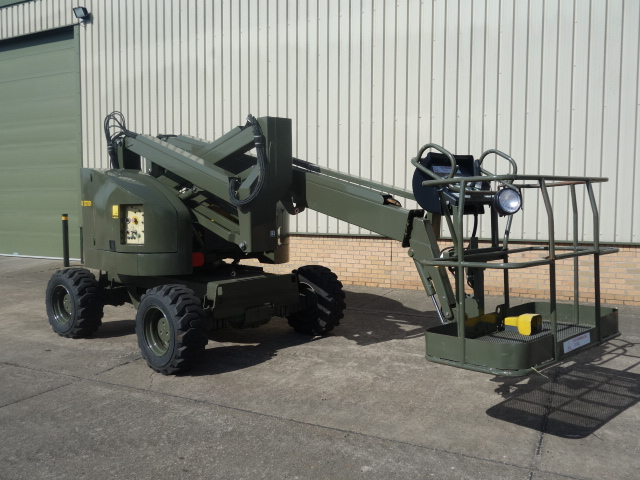 Terex TA50 RT rough terrain 4x4 boom lifts for sale | military vehicles