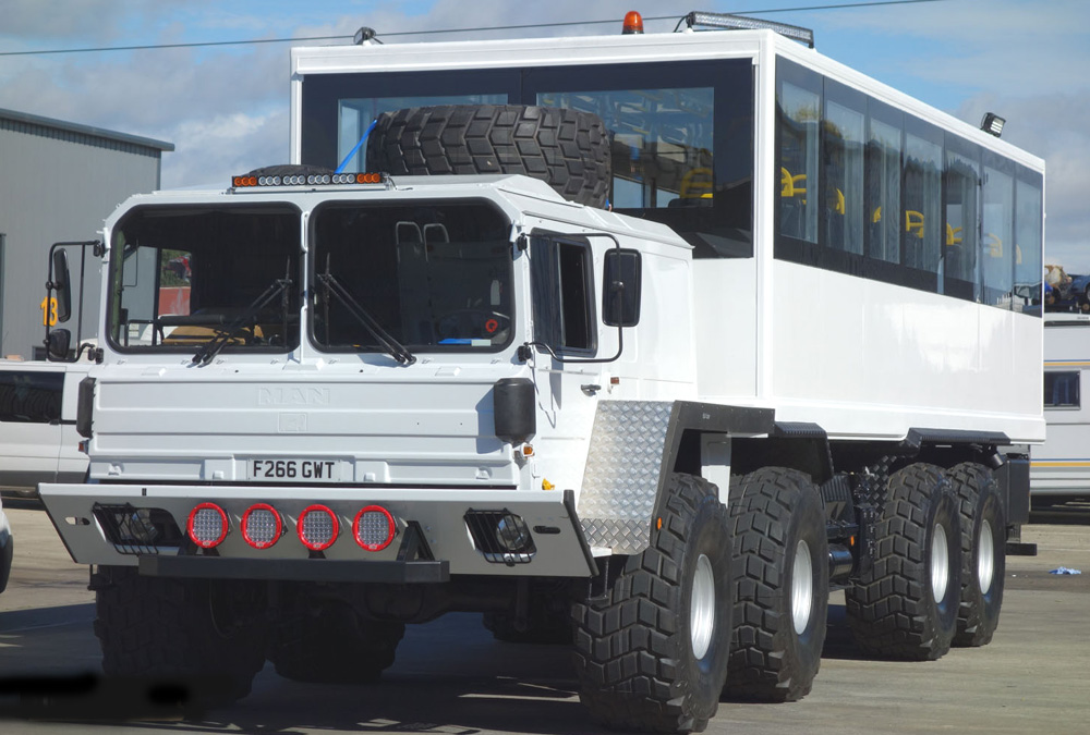 MAN 8x8 off-road Personnel Carrier / Tour or Safari Vehicle for sale | military vehicles