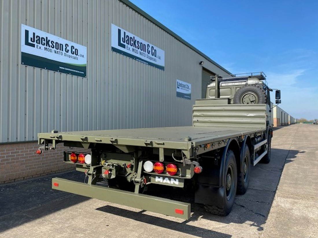 MAN 27.314 6X6 Flat bed cargo truck | used military vehicles, MOD surplus for sale