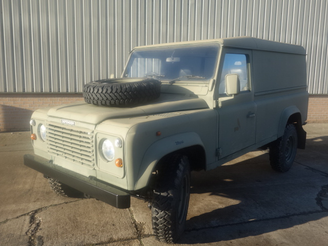 Land Rover Defender 110 300Tdi hard top for sale | military vehicles