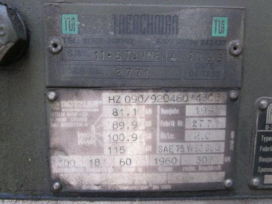 Seddon Atkinson 68 ton 6x4 RHD tractor unit  military for sale