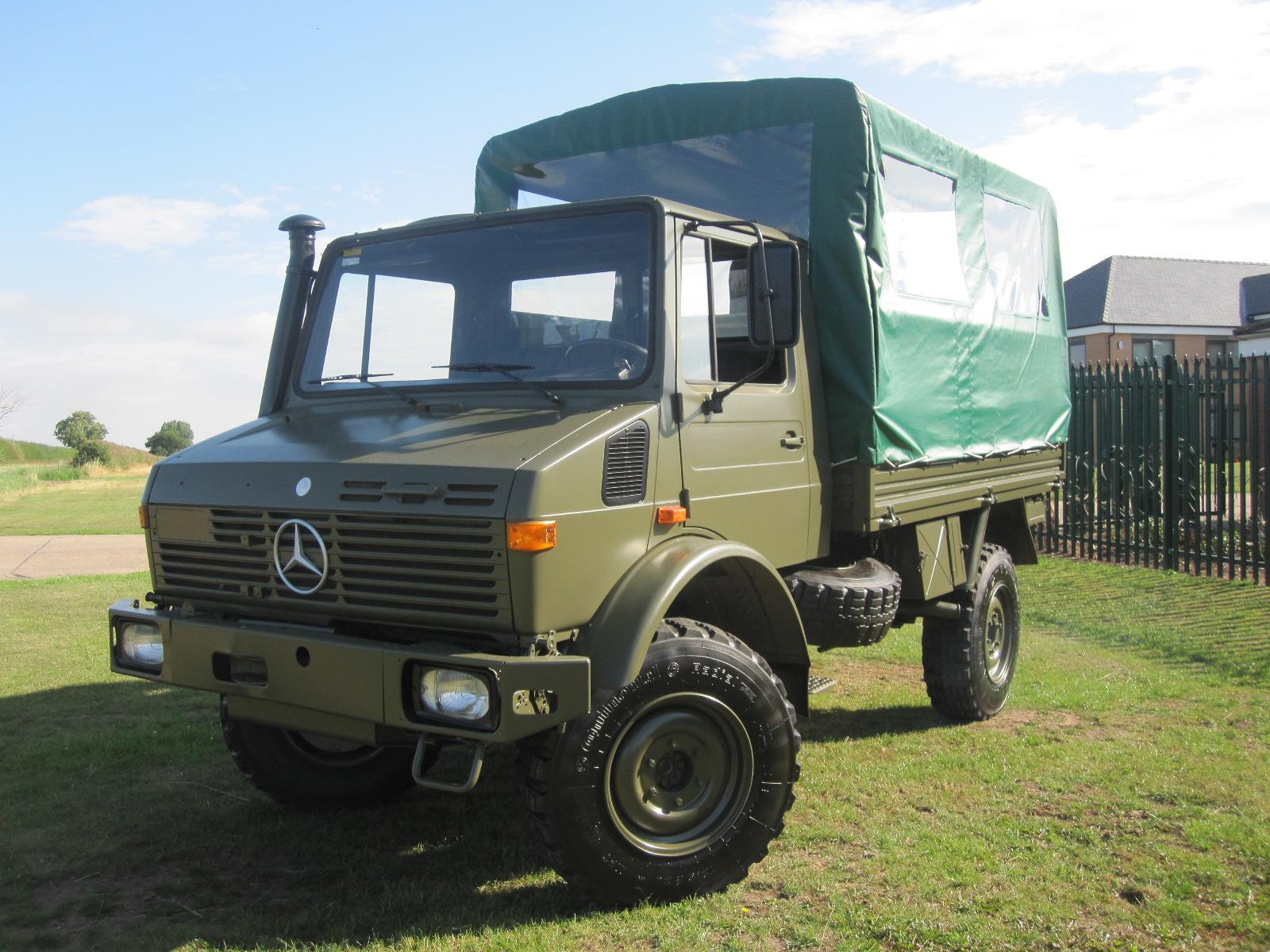 Mercedes Unimog U1300L 4x4 Shoot Vehicle for sale | military vehicles